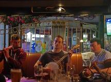Irish Musicians in a pub in Ennis Ireland Royalty Free Stock Photo