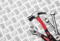 Many Tools on metal Stock Images