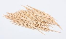 Many toothpicks. A heap of wood toothpicks Stock Photos