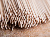Many toothpicks Royalty Free Stock Photography
