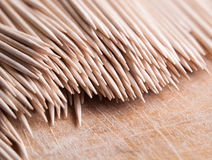 Many toothpicks Stock Photo