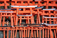 Many torii Stock Photos