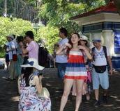 Many tourists Royalty Free Stock Photos
