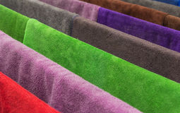 Many  towels color Stock Photo