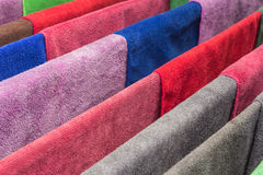 Many  towels color Royalty Free Stock Image