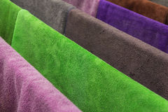 Many  towels color Royalty Free Stock Photo