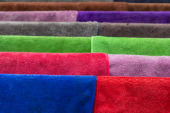 Many  towels color Stock Image