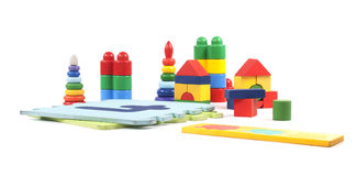 Many toys Stock Images