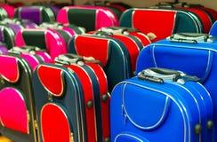 Many travel suitcases. Royalty Free Stock Image