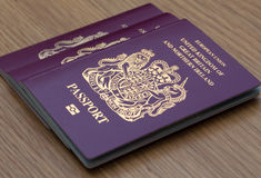 Many Uk Passports Royalty Free Stock Image