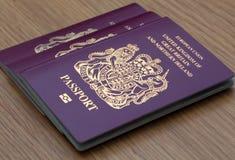 Many Uk Passports Royalty Free Stock Image