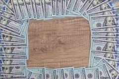 many usa dolalr banknotes Royalty Free Stock Photo