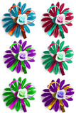 Many varicoloured flowers Stock Photography