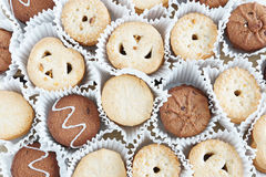 Many Various Cookies Royalty Free Stock Images