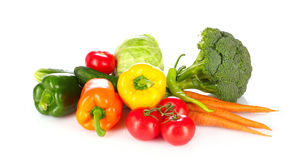 Many vegetables royalty free stock photography