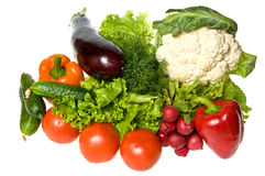 Many vegetables Stock Images