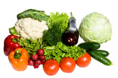 Many Vegetables Royalty Free Stock Images