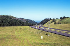 Many Vehicles on N3 Highway Entering and Leaving Pietermaritzbur Royalty Free Stock Photography