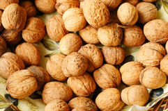 Many walnuts Stock Photos