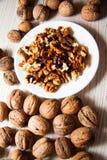 Many walnuts Royalty Free Stock Image