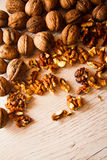 Many walnuts Royalty Free Stock Photography