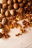 Many walnuts Royalty Free Stock Photography