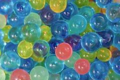 Many water balls Royalty Free Stock Image