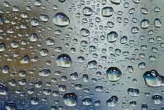 Water drop on glass wall. Many water drop on glass wall background Royalty Free Stock Photography