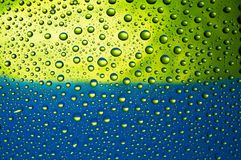 Many water drops Royalty Free Stock Image