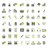Many Web Icons Stock Photos