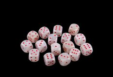 Many dice Stock Photos