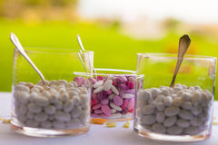 Sugared almonds Royalty Free Stock Image
