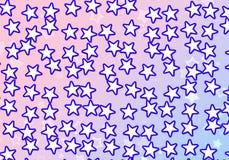 Many white stars background. holiday symbol Stock Photography