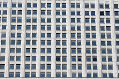Many windows. Windows of the House of government of Russia, Moscow Stock Photo