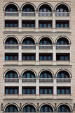 Many windows. Of building. Texture Stock Image