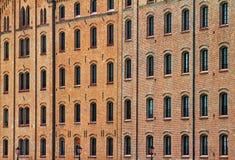 Many windows. Royalty Free Stock Photography