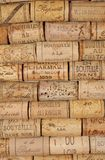 Many wine corks Stock Photos