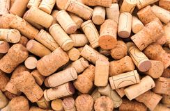 Many wine corks Royalty Free Stock Photography