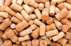 Many wine corks Royalty Free Stock Photography