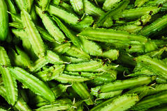 Many of winged bean in fresh market. Many of winged bean in Thailand fresh market stock image