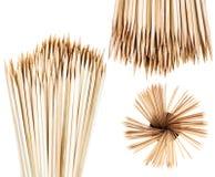Many wooden toothpicks Stock Photography