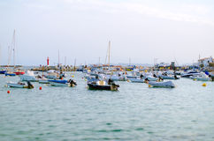 Many yachts. Royalty Free Stock Images