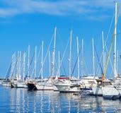 Many yachts. Royalty Free Stock Photos