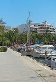 Many yachts and boats. Stock Photos