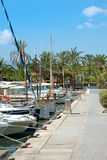 Many yachts and boats. Royalty Free Stock Photos