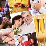 Many years together Royalty Free Stock Photo