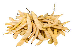 Many Yellow beans Stock Image