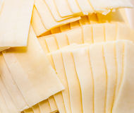 Cheese arrange as background Royalty Free Stock Photography