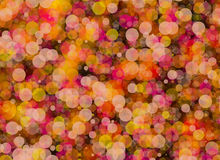 Manycolored rounds bokeh backgrounds Stock Photo