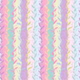 Manycolored twigs seamless pattern Royalty Free Stock Image
